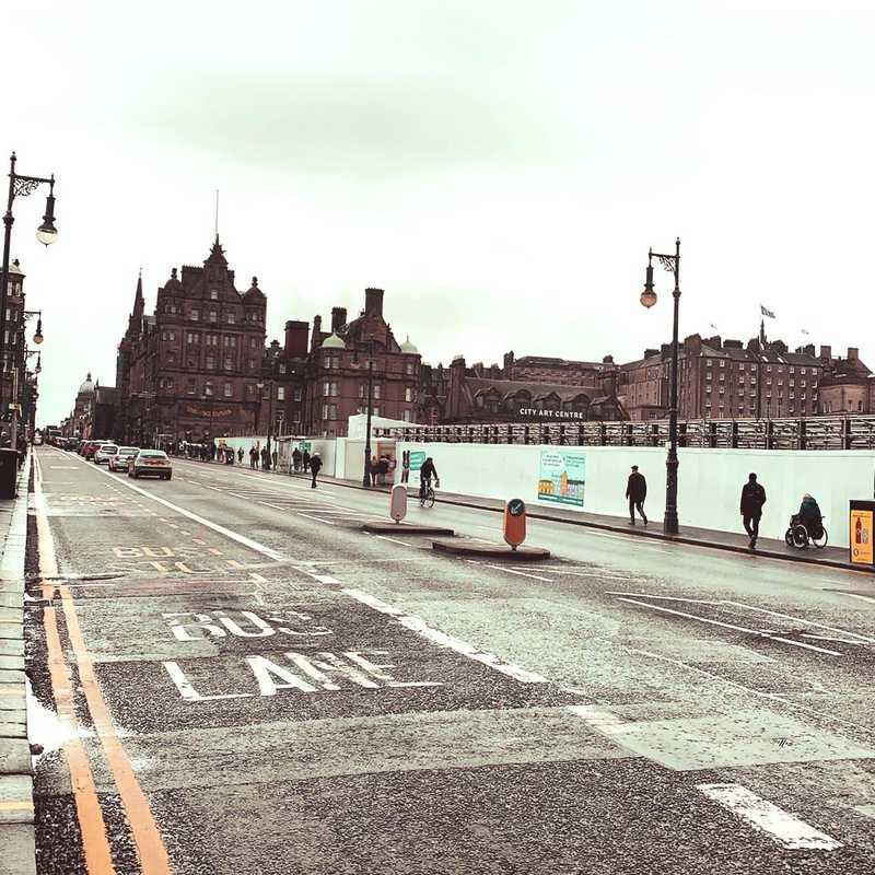 Leith Street (Stop JD)
