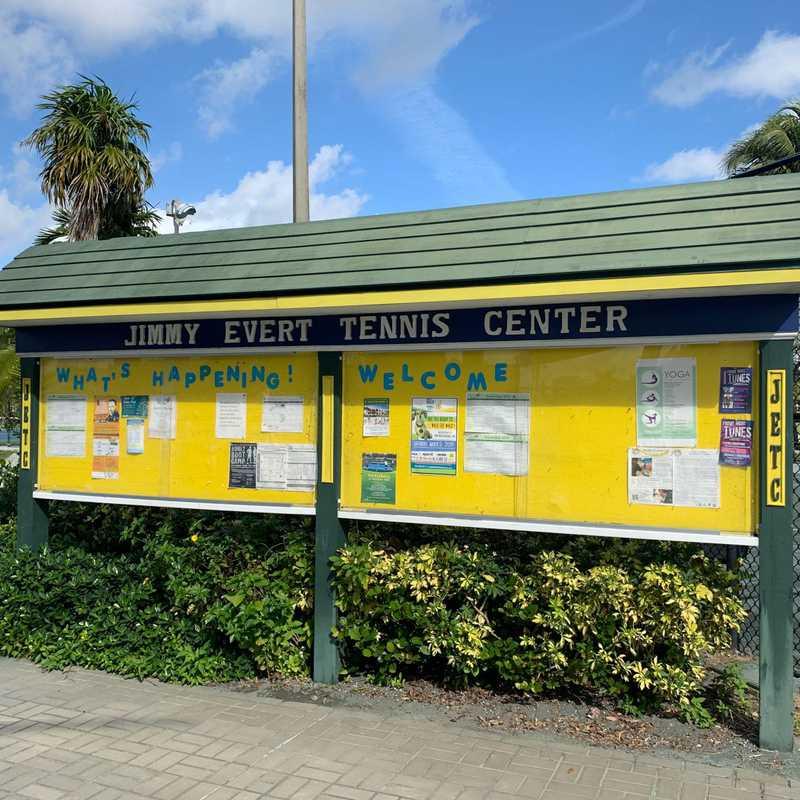 Jimmy Evert Tennis Center