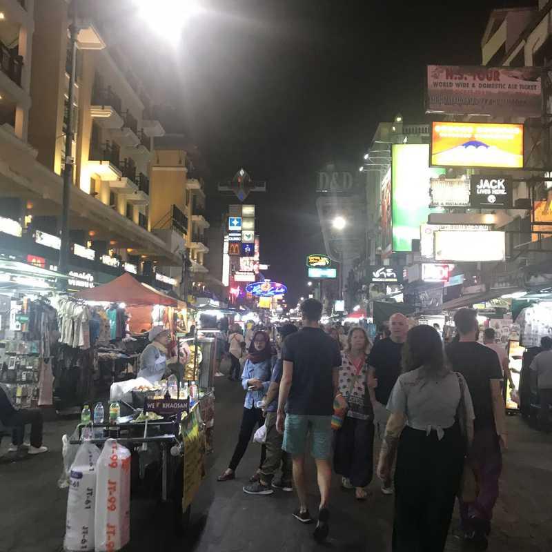 Khao san road. Bangkok