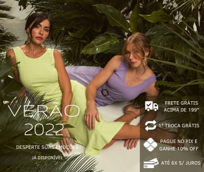Coleção moda Primavera Verão 2022 PKS roupa feminina