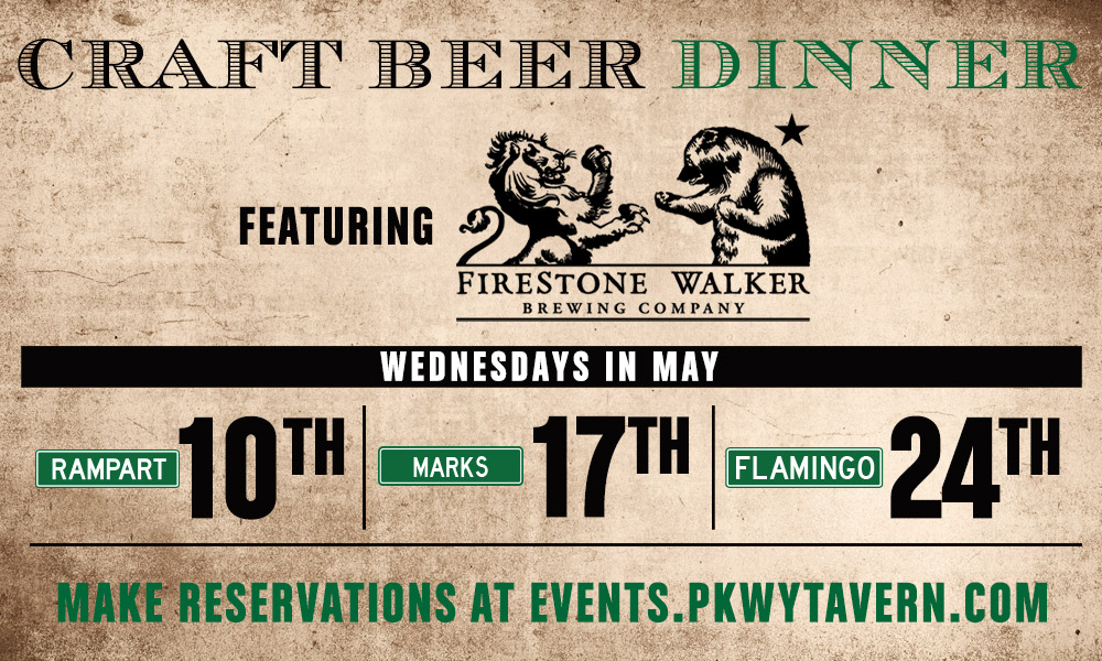 Craft Beer Dinner May Flamingo