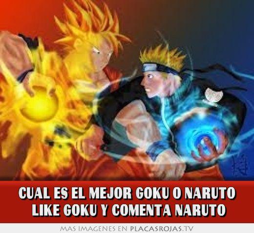 Cual es el mejor goku o naruto like goku y comenta naruto for Cual es el mejor lavavajillas