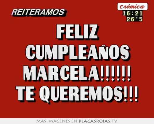 Feliz cumpleaÑos marcela!!!!! te queremos!!! - Placas Rojas TV Uma Thurman
