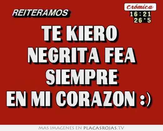 Negrita Fea