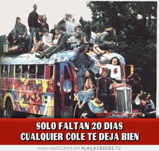Solo Faltan Dias Solo Faltan 20 Dias Cualquier
