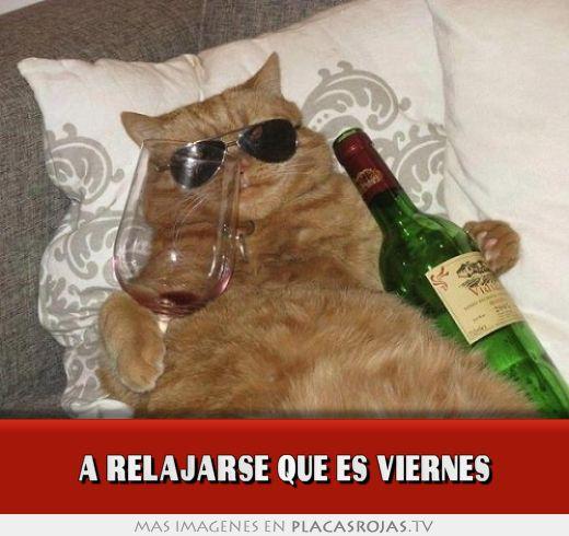 A relajarse que es viernes