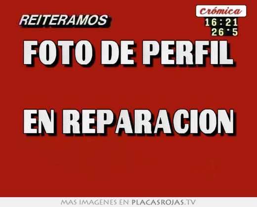 foto de perfil en reparacion placas rojas tv
