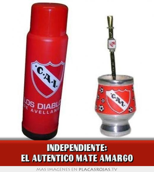 Independiente: el autentico mate amargo