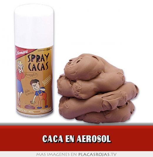 Caca en aerosol