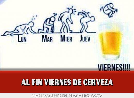 Al fin viernes de cerveza