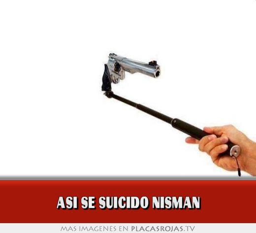 Asi se suicido nisman