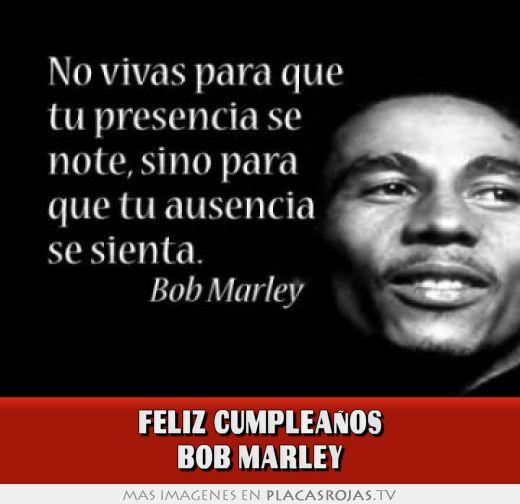 FELIZ CUMPLEAÑOS bob marley