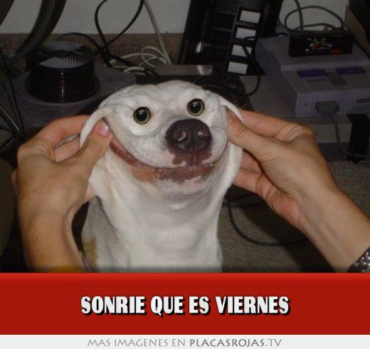 Sonrie que es viernes