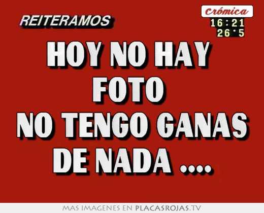 Hoy no hay foto no tengo ganas de nada .... - Placas Rojas TV Uma Thurman