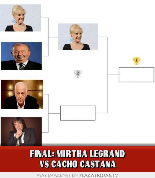 Final: mirtha legrand vs cacho castaÑa