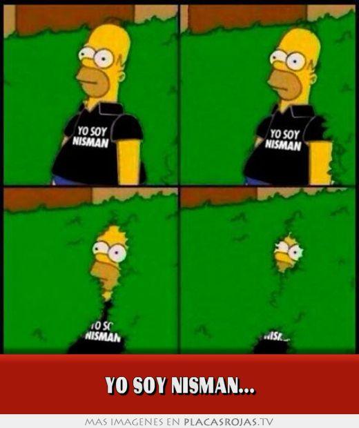 Yo soy nisman...