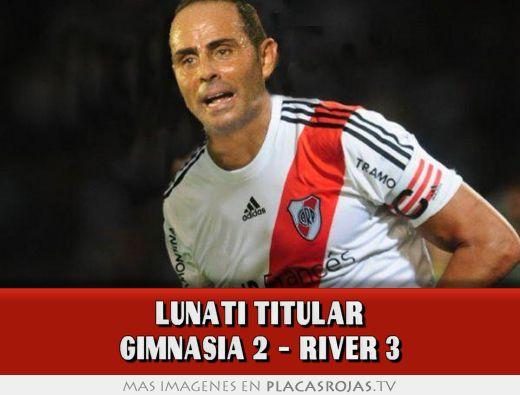 Lunati titular gimnasia 2 - river 3