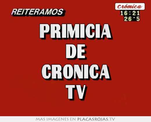 Primicia De Cronica Tv