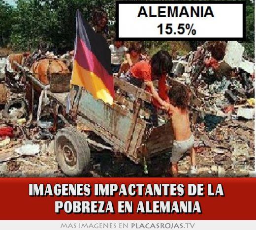 Imagenes impactantes de la  pobreza en alemania