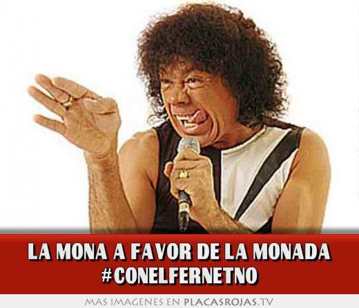 La mona a favor de la monada #conelfernetno