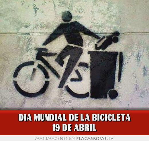 Dia mundial de la bicicleta 19 de abril