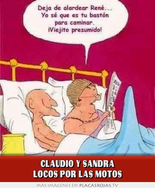 Claudio Y Sandra Locos Por Las Motos Placas Rojas Tv