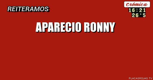 APARECIO RONNY