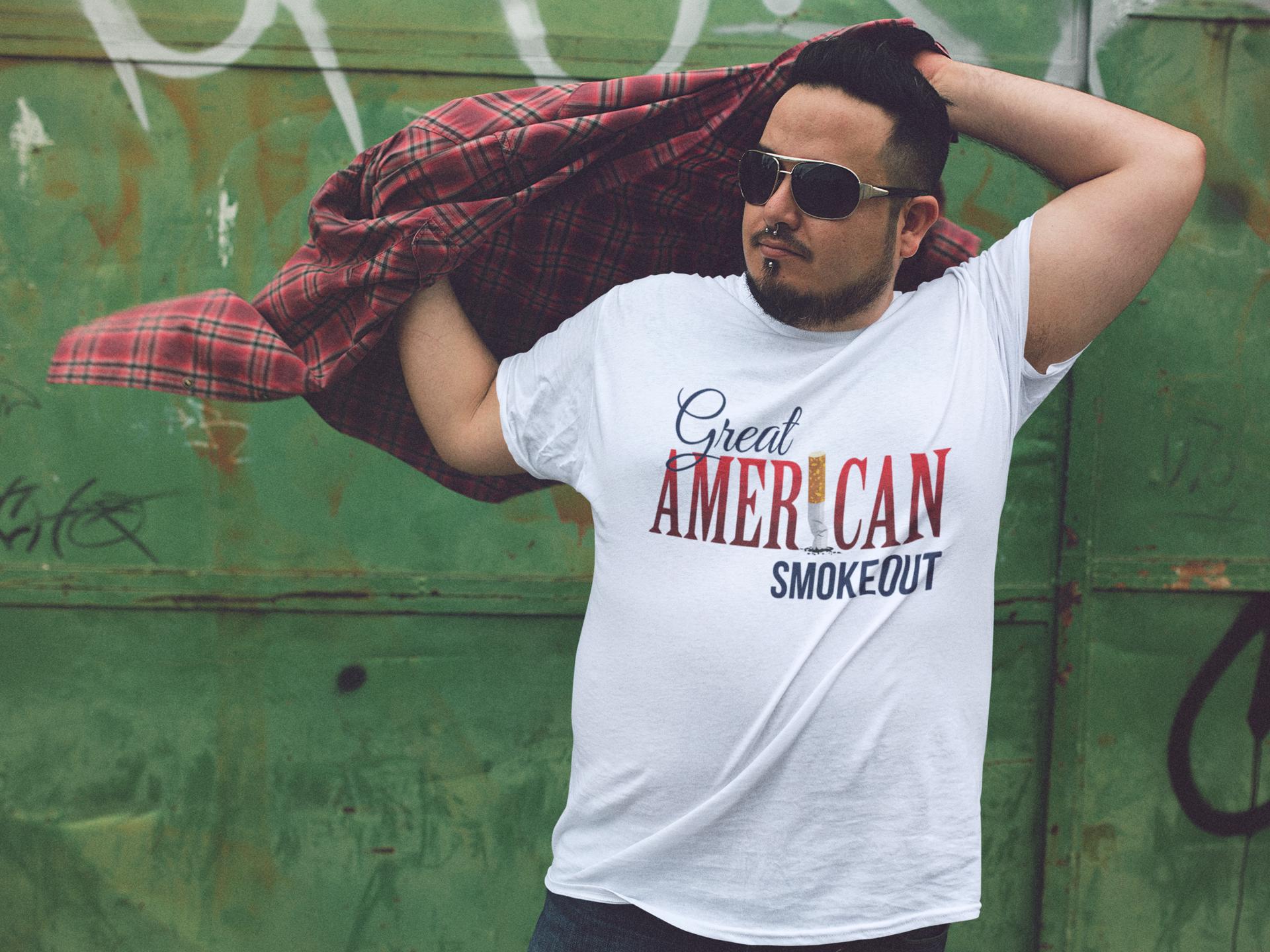 Great American Smokeout t-shirt