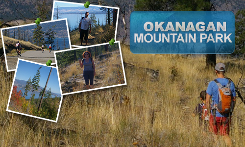 Okanagan Mountain Park with Realtor Andrew Smith