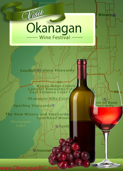 Many Okanagan Wineries to Try