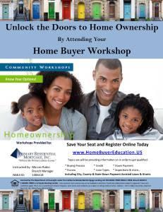 Homebuyer Workshop Flyer