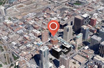Map of PlanOmatic's location in Denver Colorado