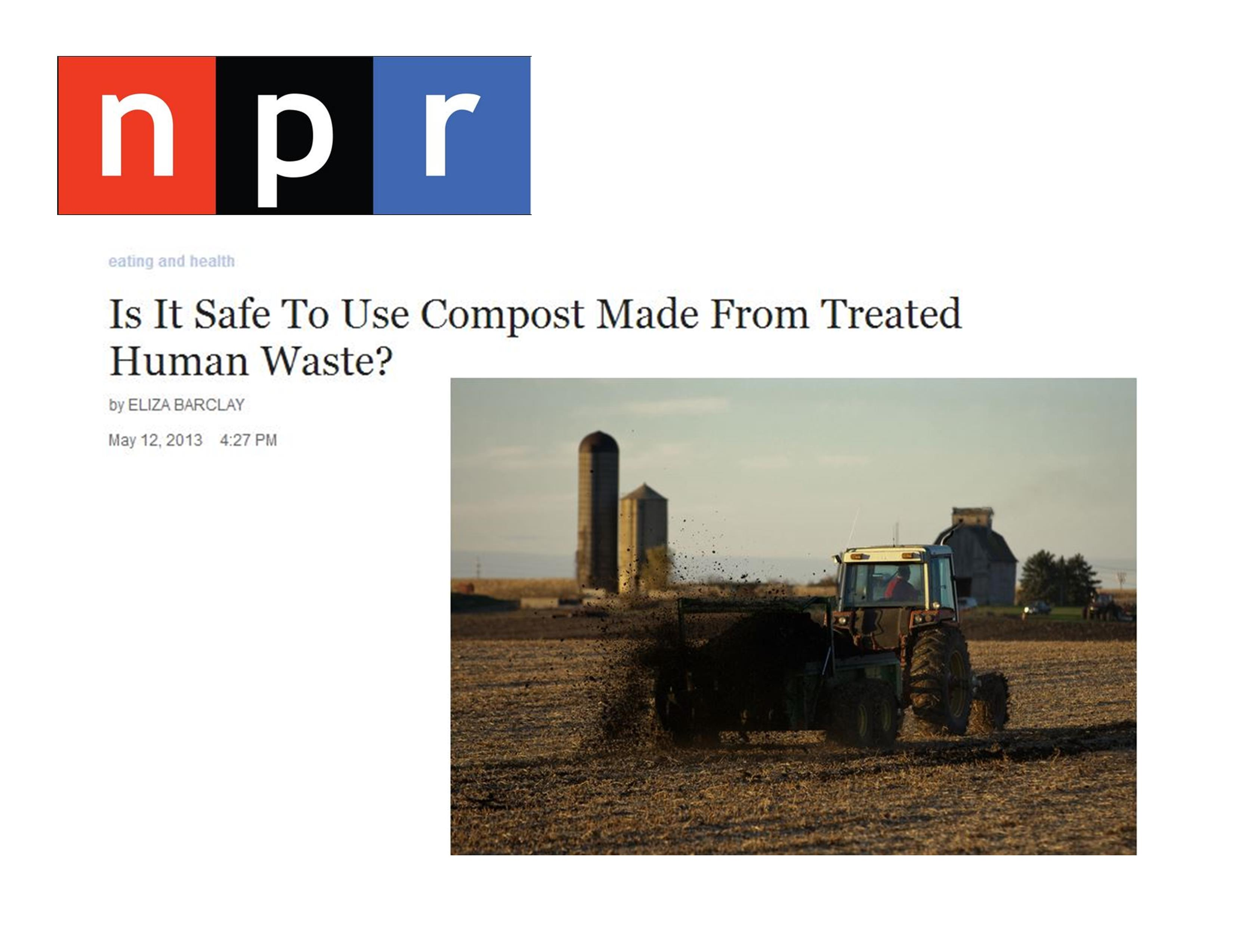 Is It Safe To Use Compost Made From Treated Human Waste?
