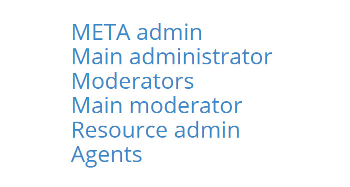 Multiple administrators possible