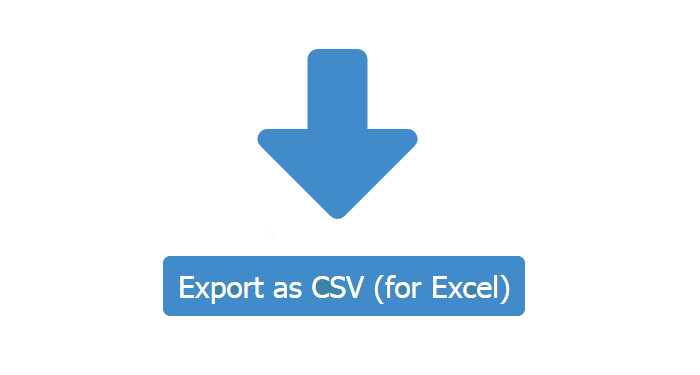 Import and export of data (such as resources, users, prices, reservations) using the CSV format