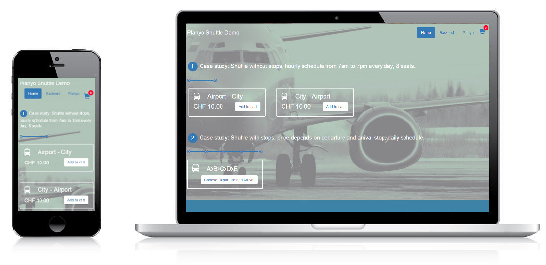 Online booking system for Shuttle Buses and Transportation