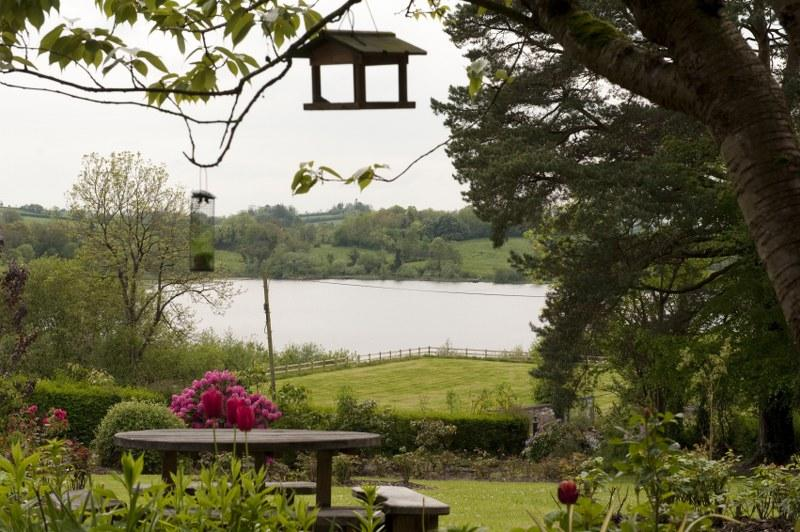 Expect stunning views of Killyfole Lough from the Coach House and gardens.