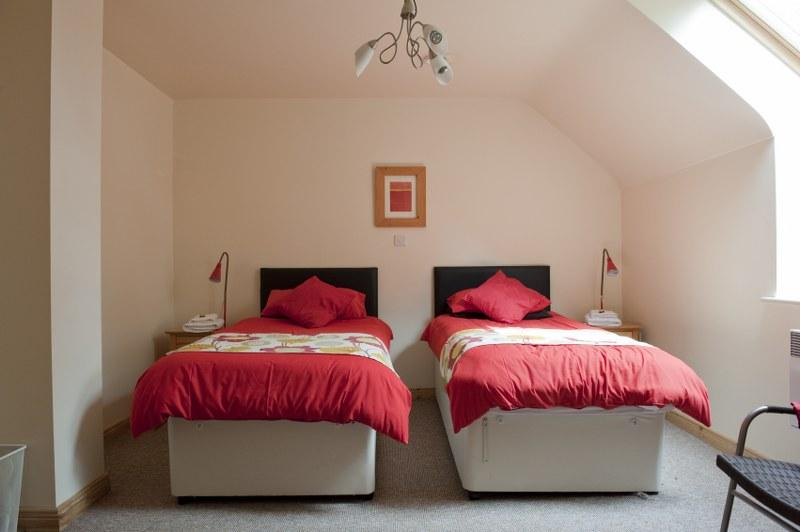 All of the bedrooms have plenty of space for everyone to relax in.