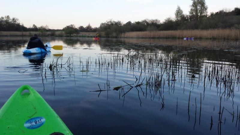 Take the kayak out on the Lough - amazing way to spend a still evening.