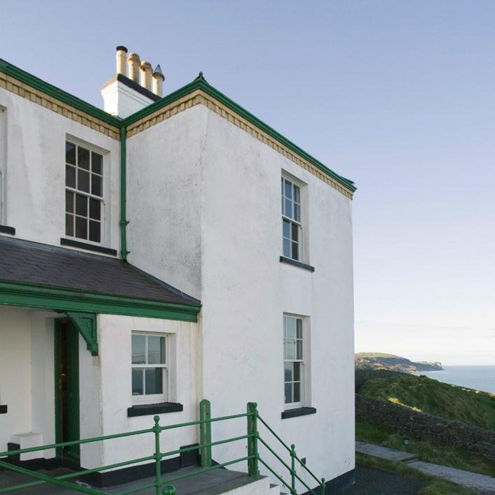 Blackhead Lightkeepers House enjoys magnificent views of the stunning Antrim Coastline, from almost every room...