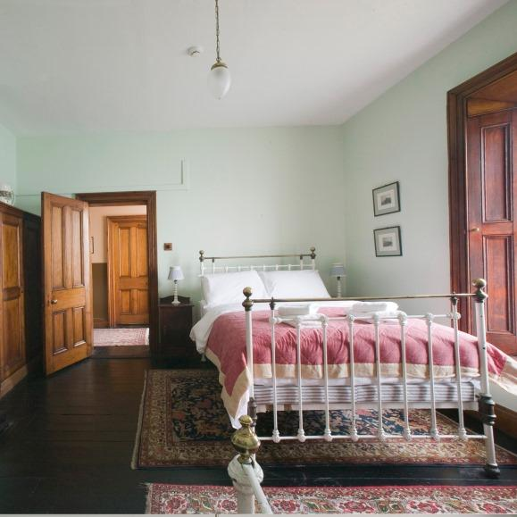 Gorgeous period interiors in every room give this holiday cottage a warm, traditional look.