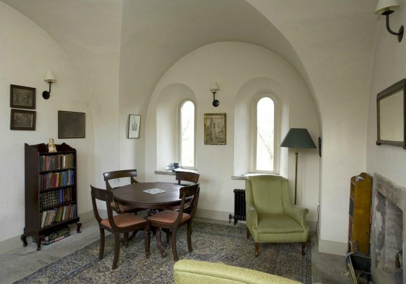 Lots of little nooks and crannies to hide away in and a cosy wood burning in the sitting room to curl up in front of.