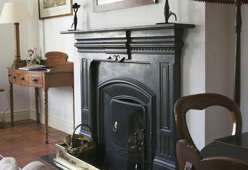 There is a cosy open fire in the sitting room, perfect to curl up in front of after dinner.