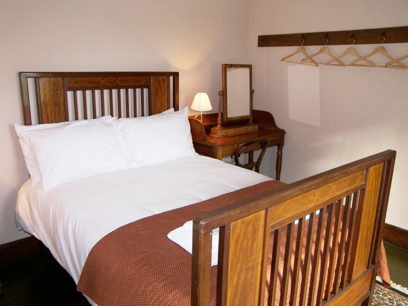 There are 5 bedrooms in total in Tullymurry House. This is one of the smart double rooms.