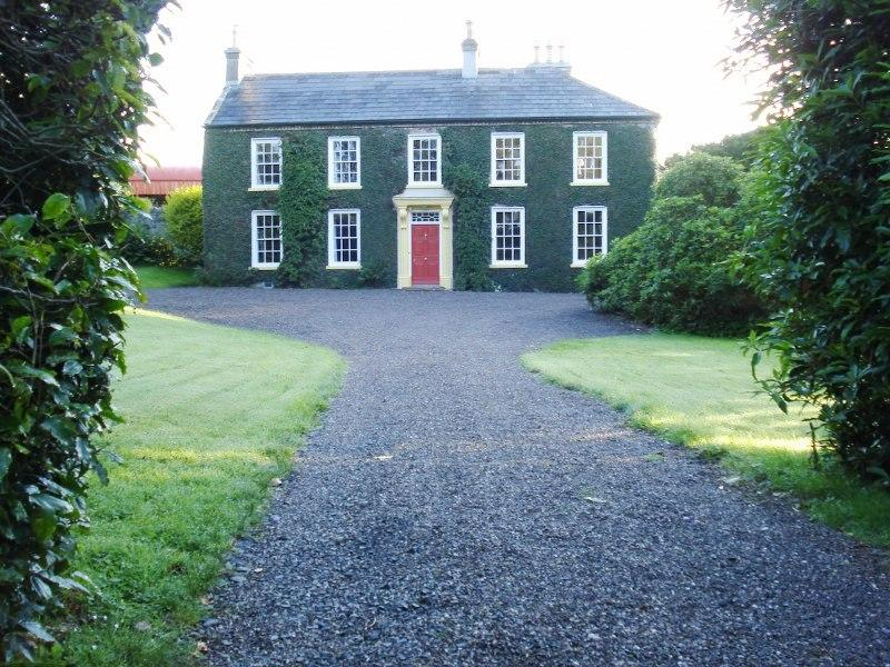 Set up a formal drive-way, arriving at Tullymurry House feels exciting in itself!