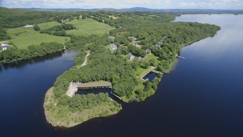 The lodges are set on a beautiful 75 acre island resort close to the shores of Lough Erne