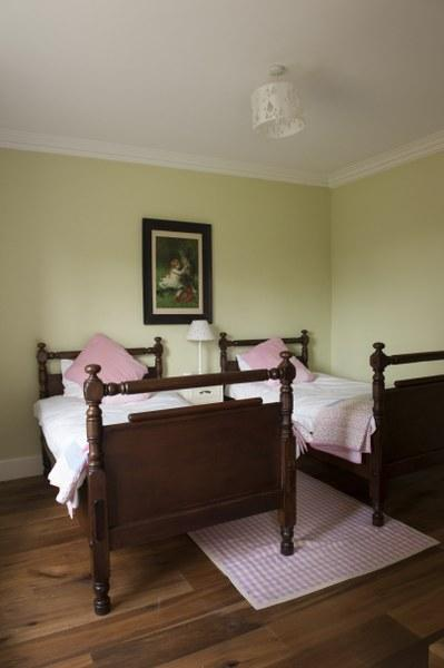 The second of the twin rooms, a lovely rooms for younger ones to enjoy or those who like their own space at night.