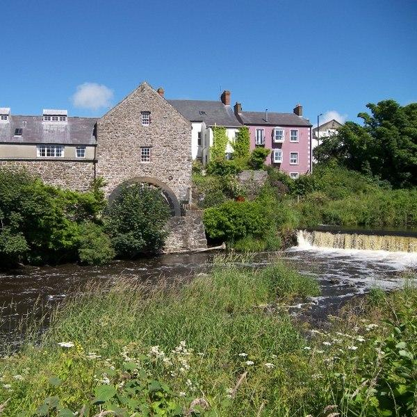 The Kiln Wing is set in a converted corn mill on the banks of the River Bush in Bushmills