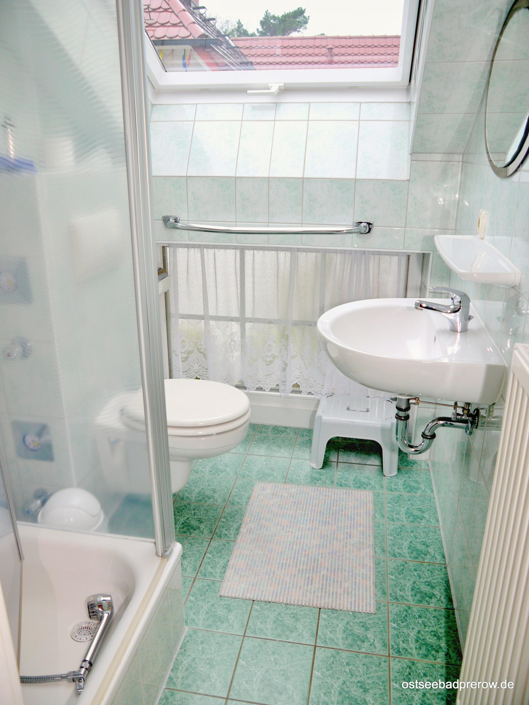 2. Dusche / WC -  hier die kleinere Dusche/WC am 2. Schlafzimmer