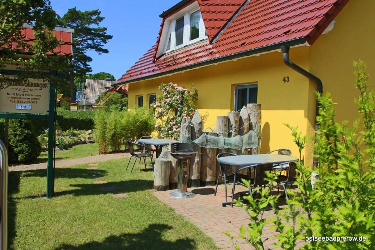 Grillbereich Garten